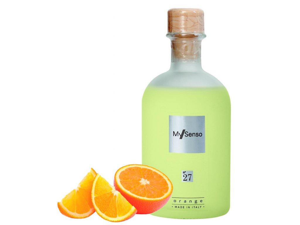 My Senso - Náhradní náplň pro aromatický difuzér N°27 Orange (Pomeranč), 240ml