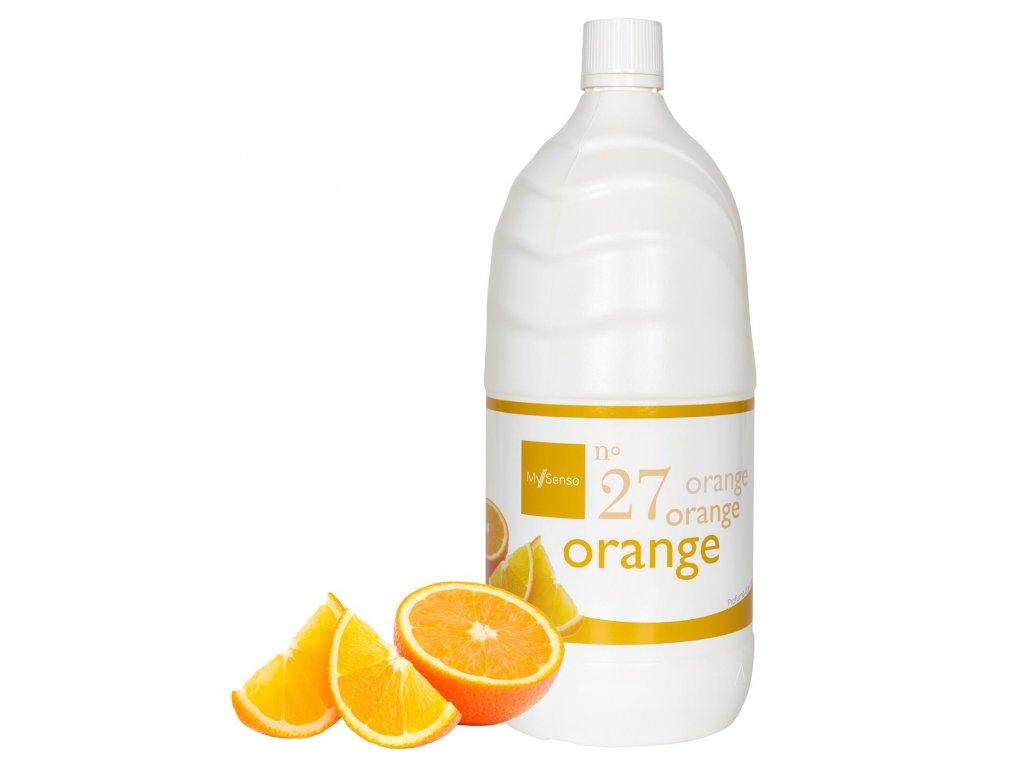 My Senso - Náhradní náplň pro aromatický difuzér N°27 Orange (Pomeranč), 2000ml