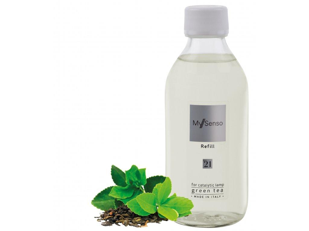 My Senso - Náplň pro katalytickou lampu N°21 Green Tea (Zelený čaj), 240ml