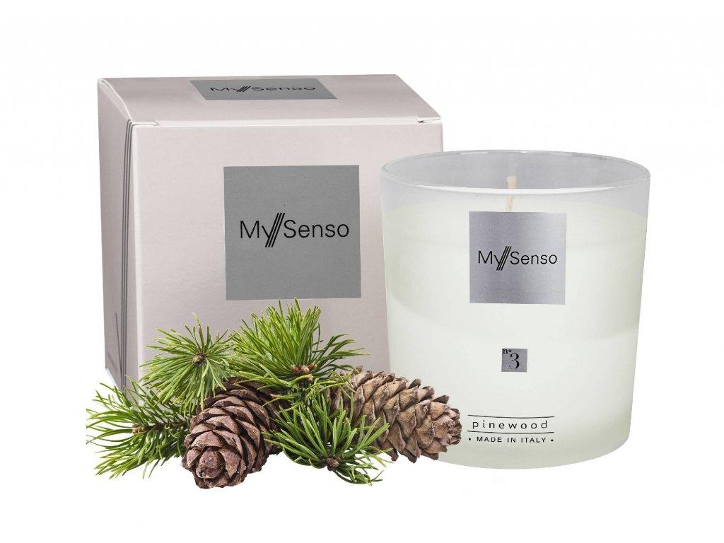 My Senso - Vonná svíčka N°3 Pinewood (Borovice)