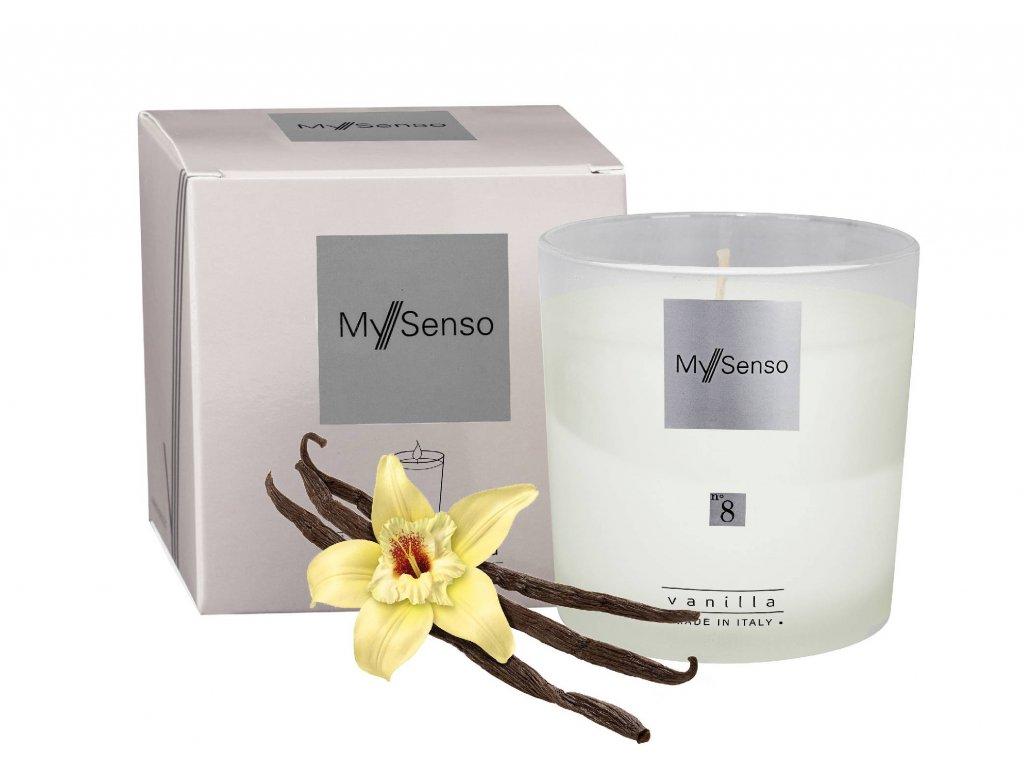 My Senso - Vonná svíčka N°8 Vanille (Vanilka)