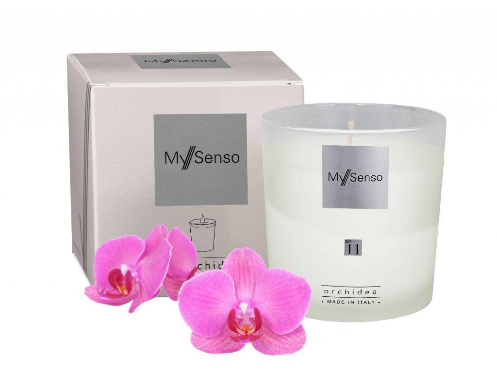 My Senso - Vonná svíčka N°11 Orchidea (Orchidej)