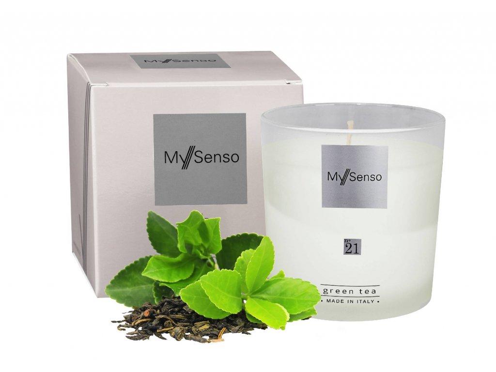 Perfumed candle N°21 Green Tea