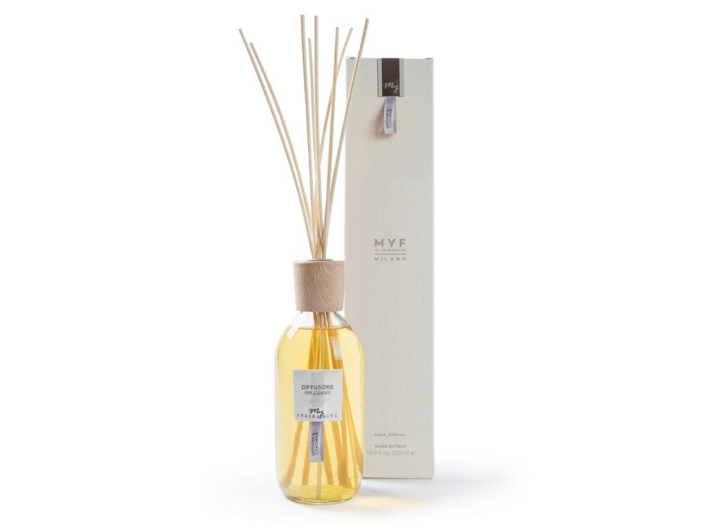 MYF - Classic aroma difuzér Levander & Canomile (Levandule a heřmánek), 500ml
