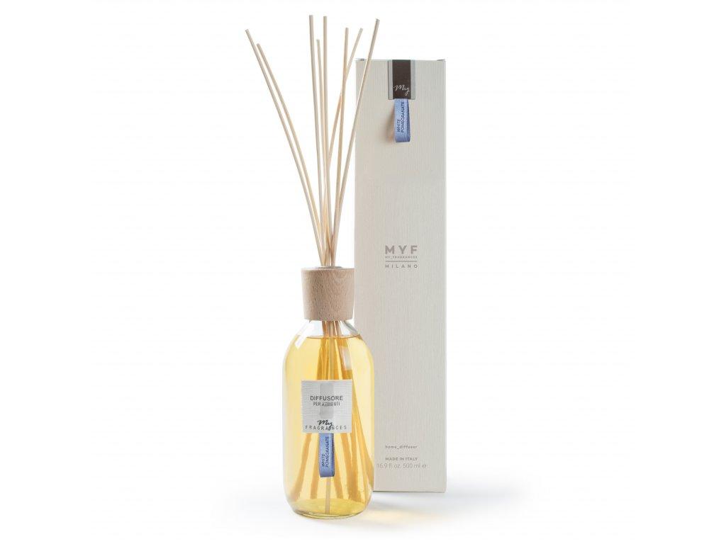 MYF - Classic aroma difuzér White Pomegranate (Pomeranč, Granátové jablko a jasmín), 500ml