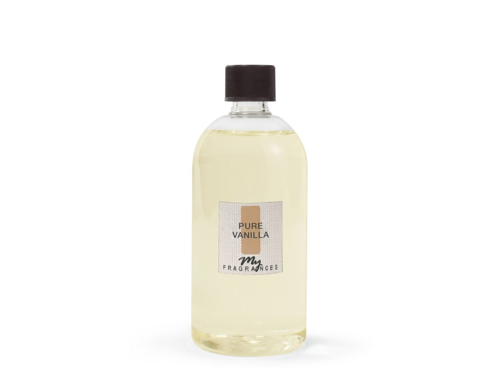 MYF - Náplň pro aromatický difuzér Pure Vanila (Vanilka z Madagaskaru), 500ml