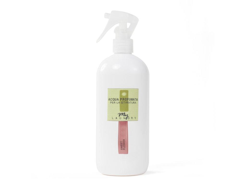 MYF - Parfémovaná voda na žehlení Sweet Flower (Narcis a bílá růže), 500ml