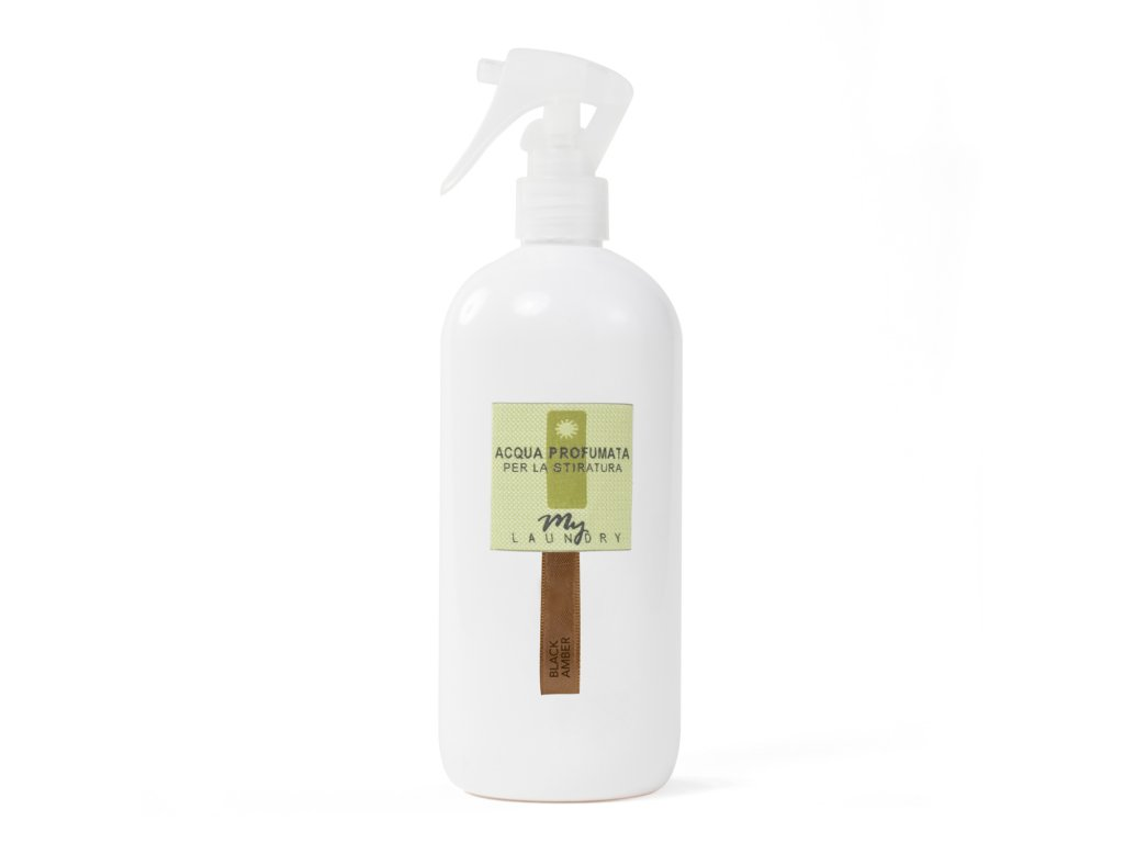 Parfumed Water for ironing Black Amber 500ml