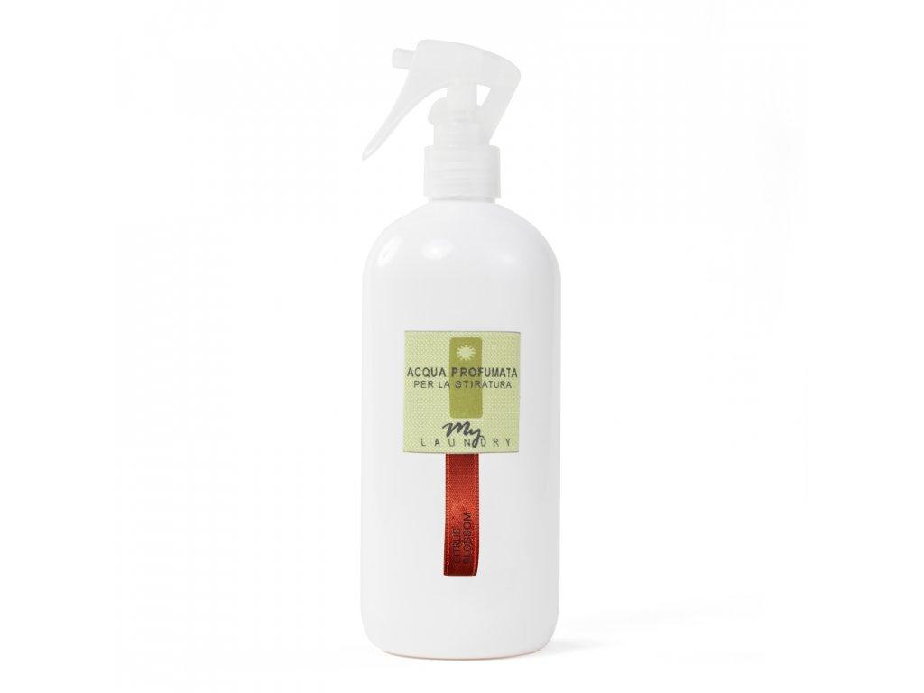 MYF - Parfémovaná voda na žehlení Citrus Blossom (Citrón a vůně dřeva), 500ml