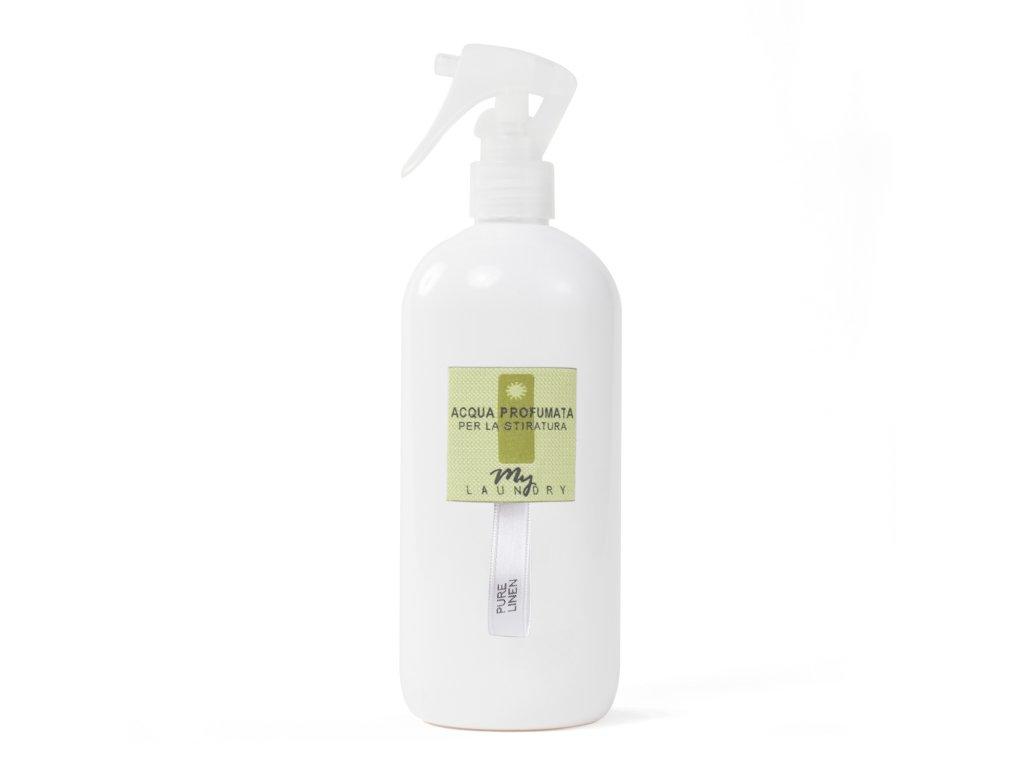 MYF - Parfémovaná voda na žehlení Pure Linen (Len, vanilka a citrón), 500ml