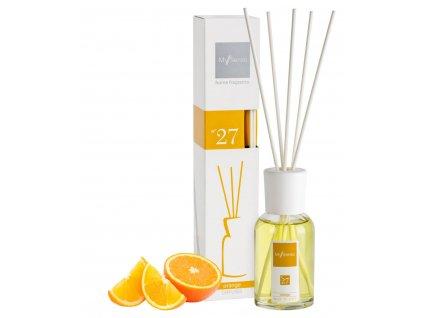 My Senso - Aromatický difuzér Midi 100ml N°27 Orange (Pomeranč)