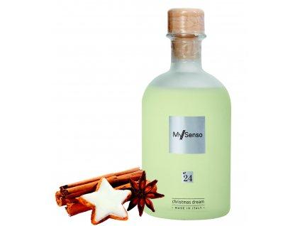 My Senso - Náhradní náplň pro difuzér N°24 Christmas Dream (Vanilka, anýz, jablko), 240ml