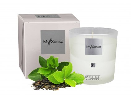 Perfumed candle N°21 Green Tea