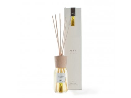 MYF - Classic aroma difuzér Sandalwood & Orange (Santalové dřevo a pomeranč), 100ml