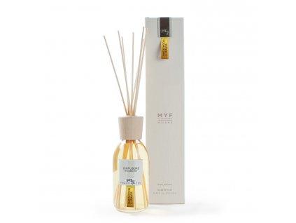 MYF - Classic aroma difuzér Sandalwood & Orange (Santalové dřevo a pomeranč), 250ml