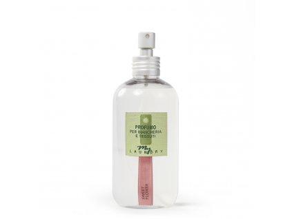 MYF - Parfémovaná voda na tkaniny Sweet Flower (Narcis a bílá růže), 250ml
