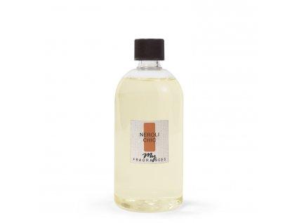 MYF - Náplň pro aromatický difuzér  Neroli Chic (Hořký pomeranč a bergamot), 500ml
