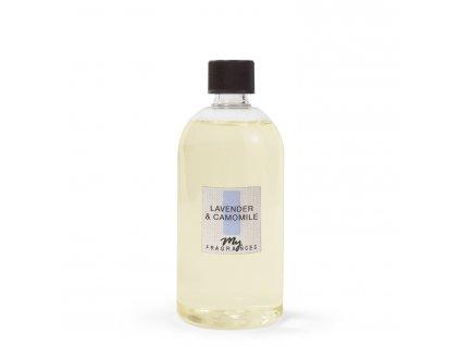 MYF - Náplň pro aromatický difuzér Levander & Canomile (Levandule a heřmánek), 500ml