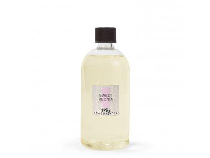 MYF - Náplň pro aromatický difuzér Sweet Peonia (Pivoňka a egyptský jasmín), 500ml