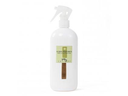 MYF - Parfémovaná voda na žehlení Black Amber (Pižmo, citrón a vůně moře), 500ml