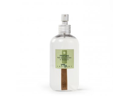 MYF - Parfémovaná voda na tkaniny Black Amber (Pižmo, citrón a vůně moře), 250ml
