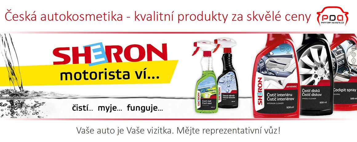 Kvalitní česká autokosmetika Sheron