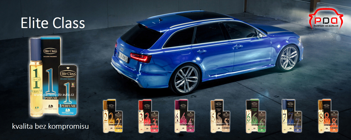 Luxusní autoparfémy L&D Elite Class