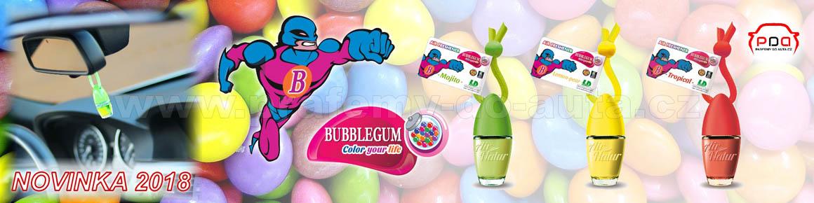 Žvýkačkové závěsné vůně do auta Bubblegum Little Bottle