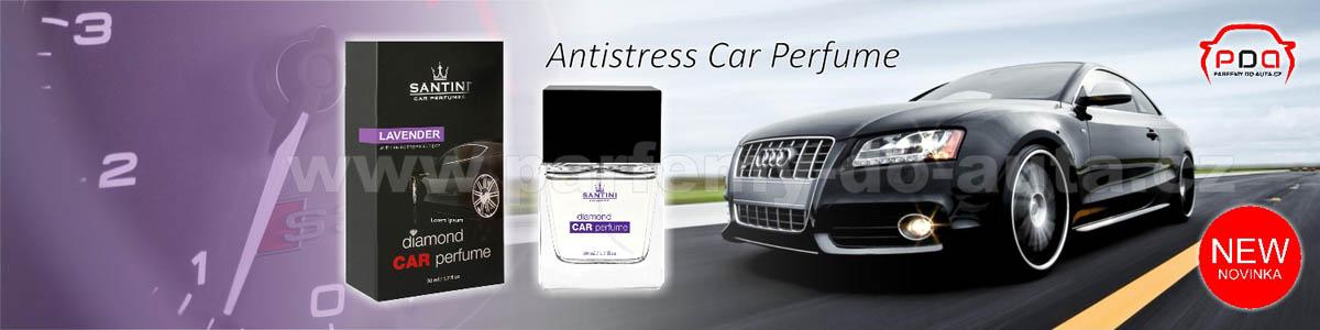 Luxusní vůně do auta Santini Levander Antistress
