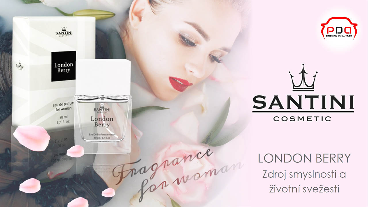 London Berry dámský parfém od Santini 50ml 16-9 n1280
