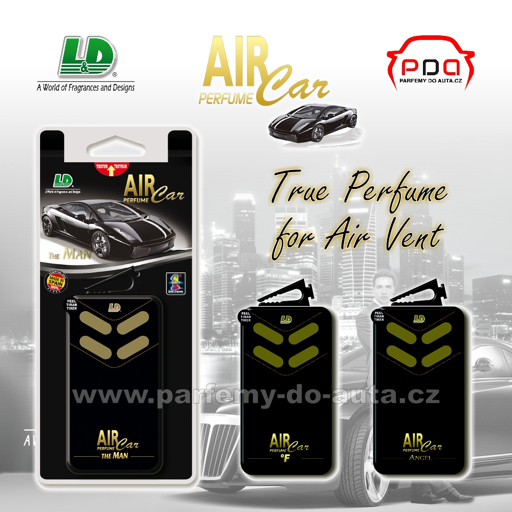 Vůně do ventilace Little Box Air Car Perfume