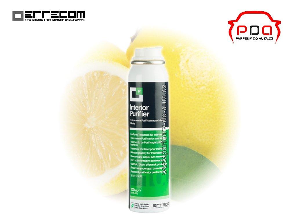 IP čistič klimatizace automobilu Lemon s vůní citrónu