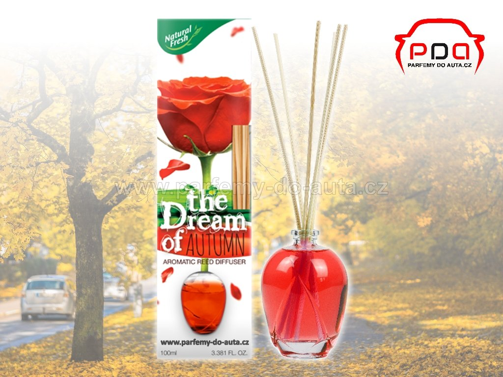 Aroma difuzér The Dream of Autumn podzim bytová vůně Natural Fresh