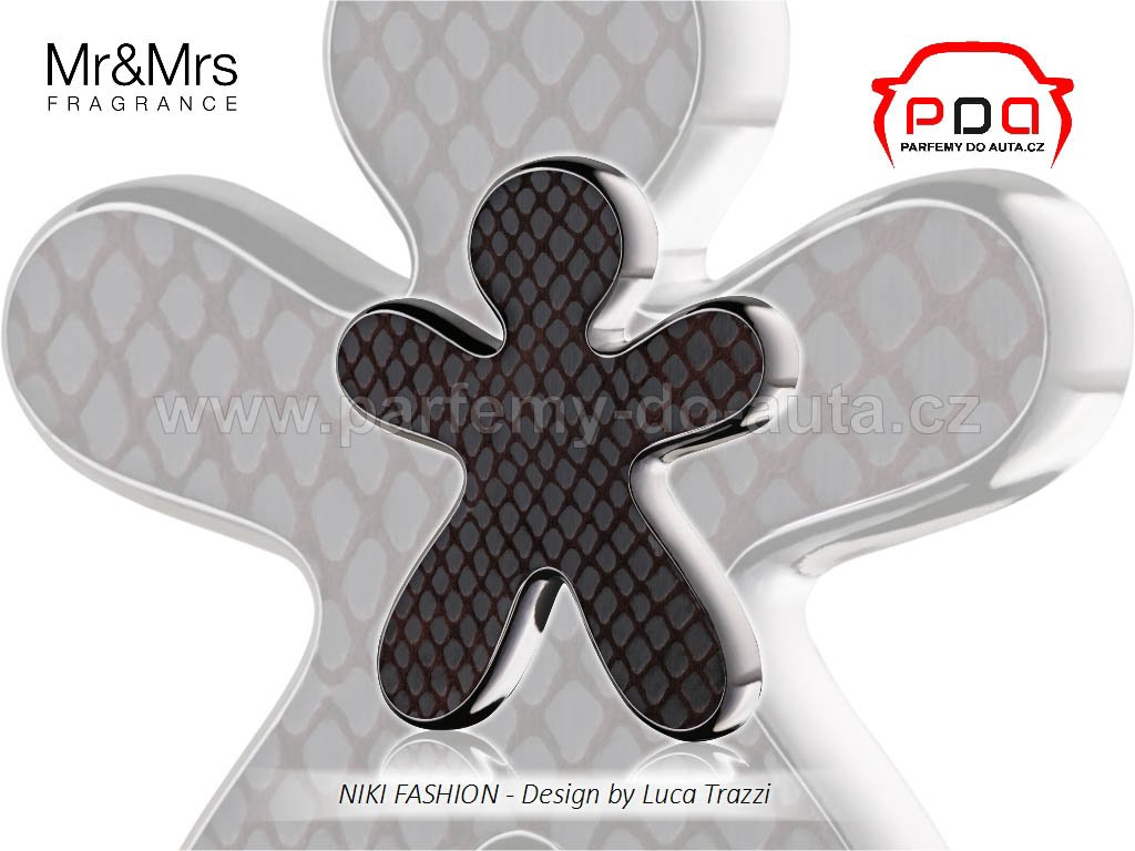 Panáček Niki Fashion Black Orchid černý Mr Mrs Fragrance