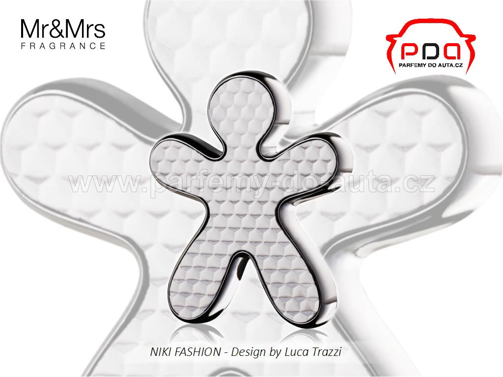 Panáček Niki Fashion Black Tea stříbrný Mr Mrs Fragrance