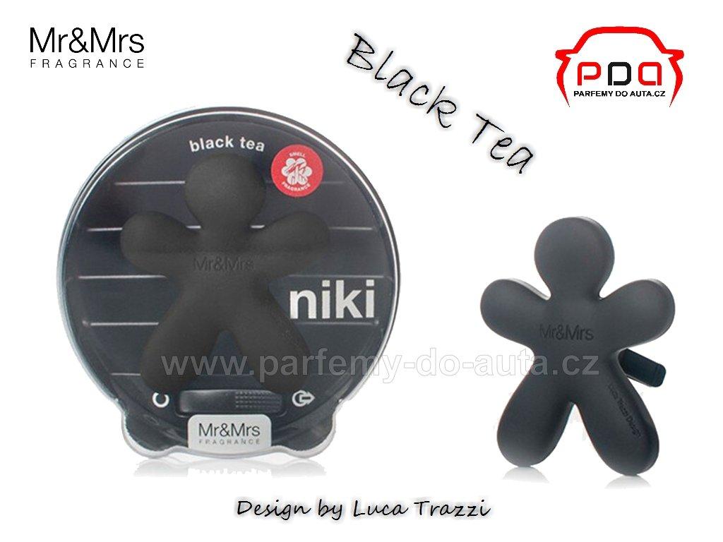 Panáček Niki Black Tea - černý čaj - vůně do auta Mr Mrs Fragrance