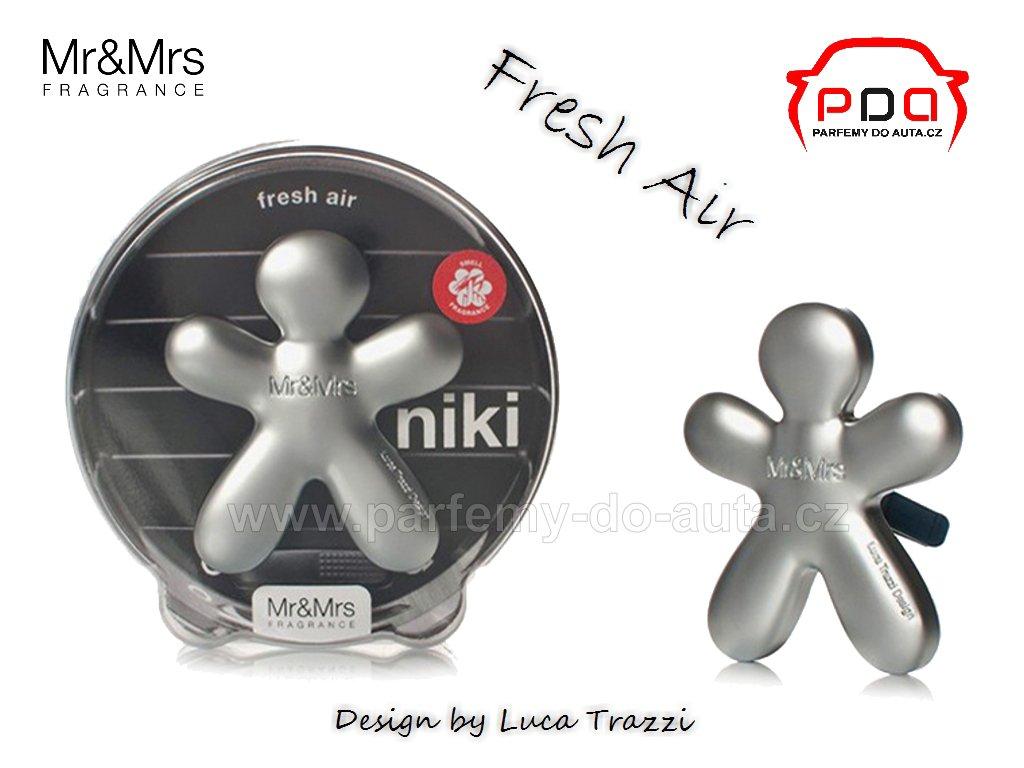 Panáček Niki Fresh Air - svěžest - vůně do auta Mr Mrs Fragrance