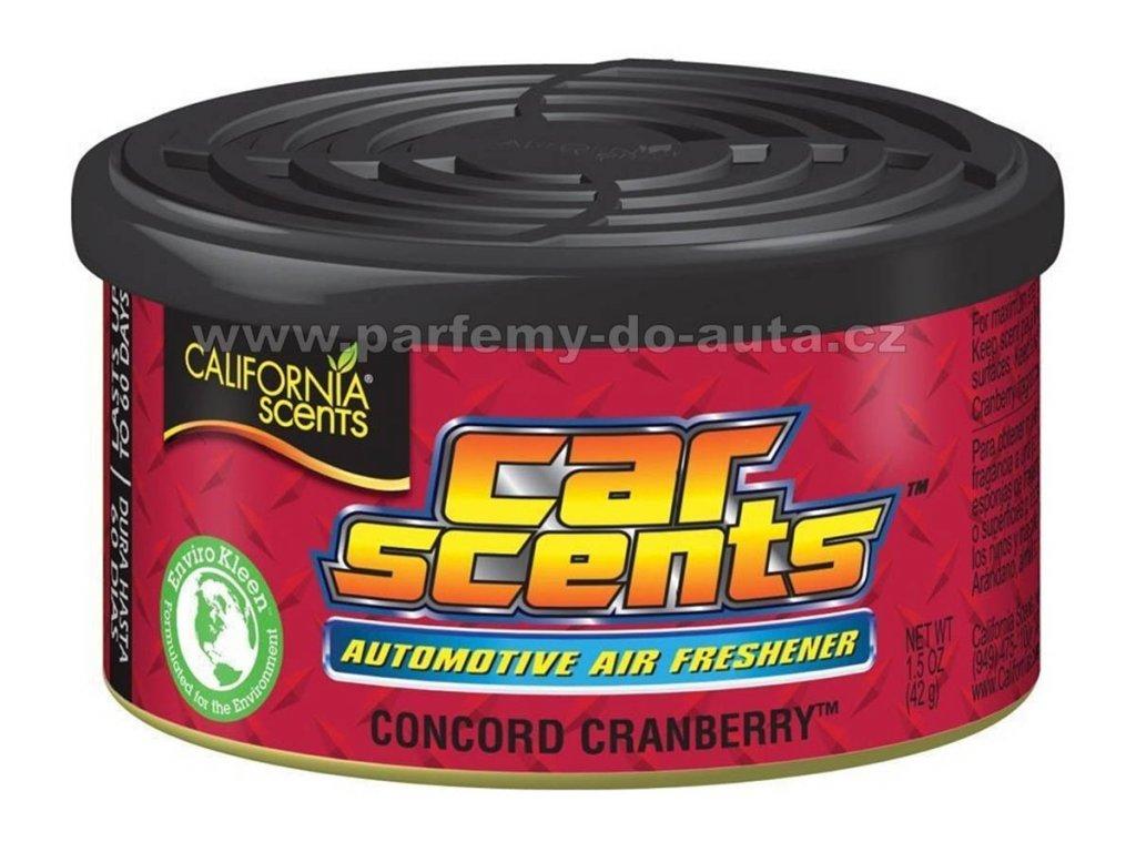 Car Scents Concord Cranberry - Brusinka