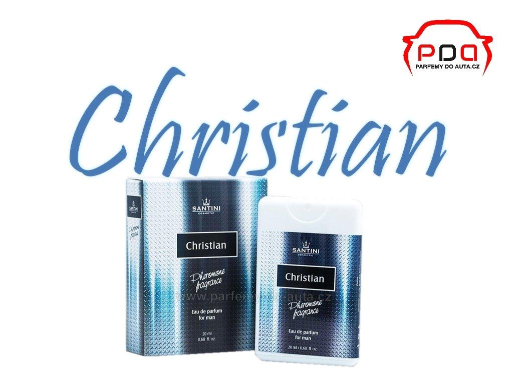 4308efb4fc037 Santini Christian 20ml vzorek pánského parfému s feromony