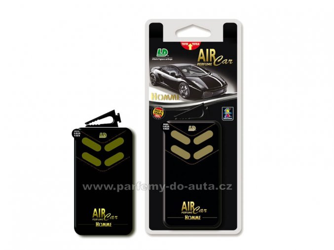 Box Vent Air Car Perfume Homme parfém do auta