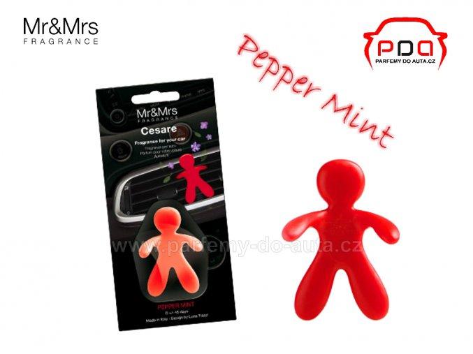 Panáček Cesare Pepper Mint červený - máta
