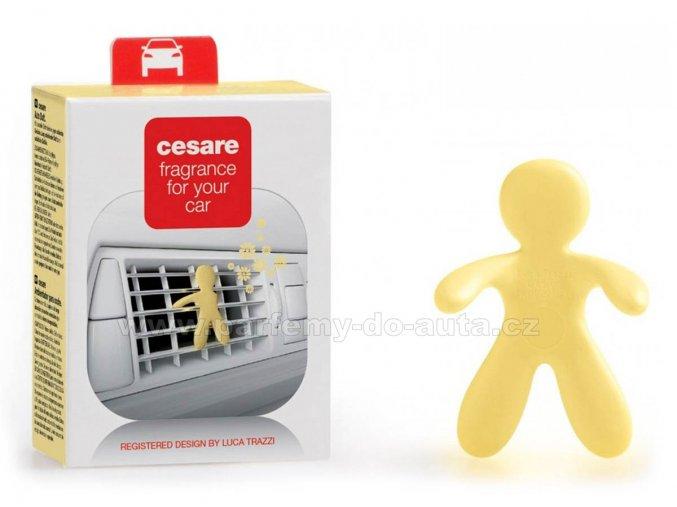 Cesare Jasmine Tea žlutý panáček vůně do auta Mr Mrs