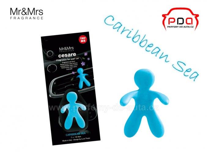 Panáček Cesare Caribbean Sea modrý 1024