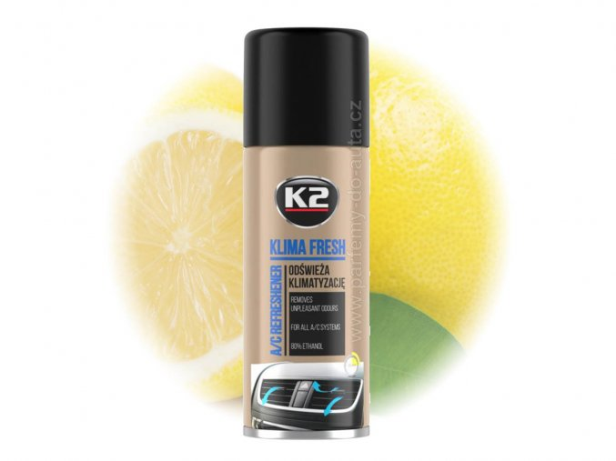 čistič klimatizace K2 Klima Fresh Lemon citrón 150ml