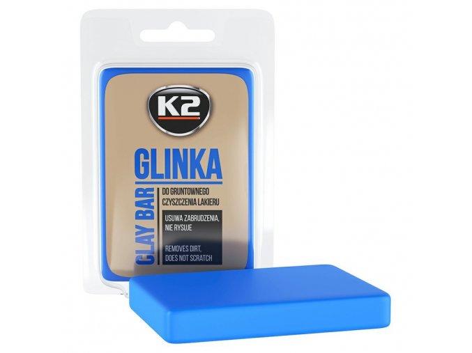 Clay Bar K2 dekontaminační hmota na lak automobilu