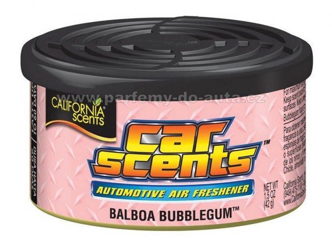 Car Scents Balboa Bubblegum žvýkačky - vůně do auta v plechovce