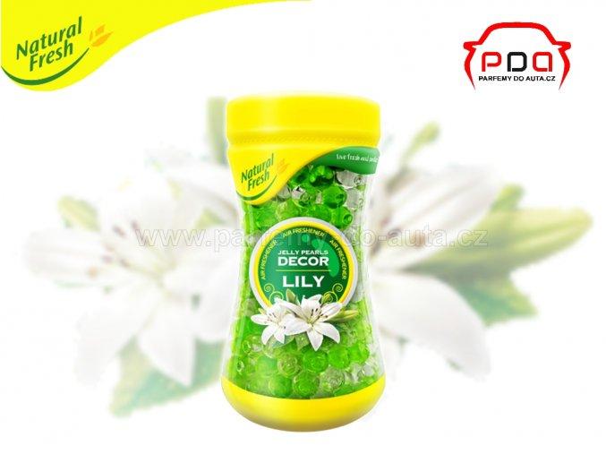 Vonné perly dekorační vůně Jelly Perls Decor Lily Lilie