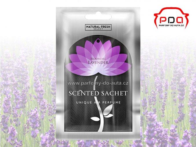 Vonný sáček Scented Sachet Silver Blooming Lavender kvetoucí levandule Natural Fresh