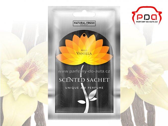 Vonný sáček Scented Sachet Silver Vanilla Vanilka Natural Fresh 1024