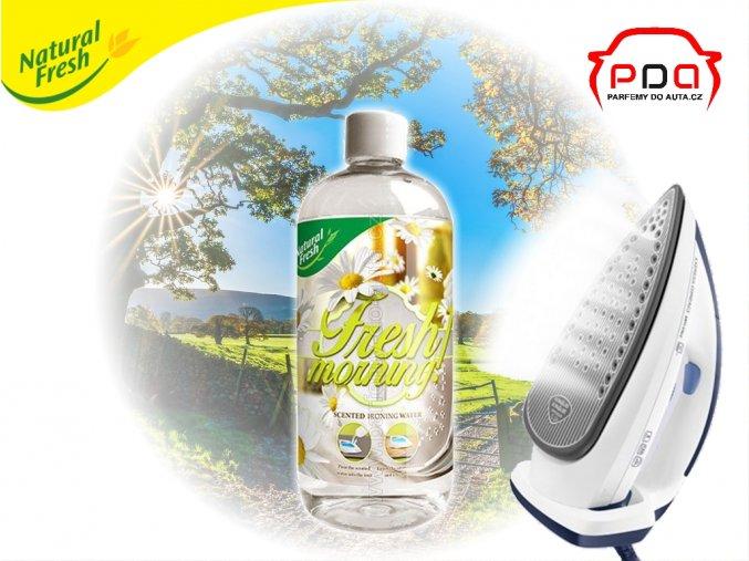 vůně do žehličky Ironing Water Fresh Morning s vůní svěží ráno 500ml Natural Fresh